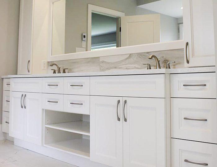 Bathrooms Vanities - Dowdal Cabinets North Bay