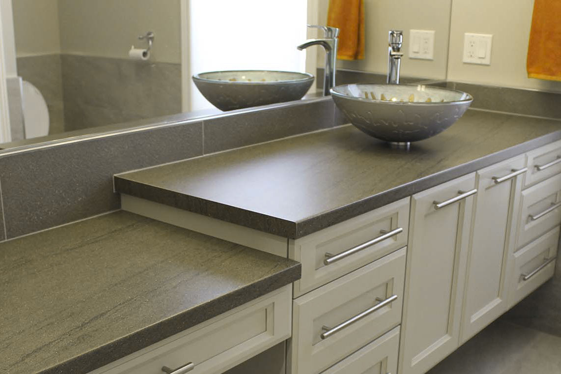 Bathroom Vanity by Dowdal Cabinets