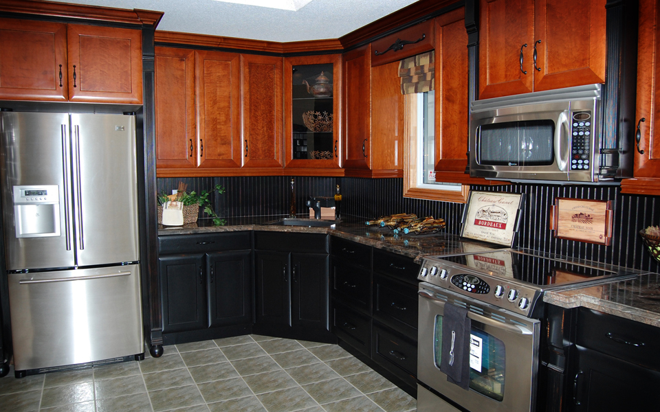 Showroom Kitchen at Dowdal Cabinets