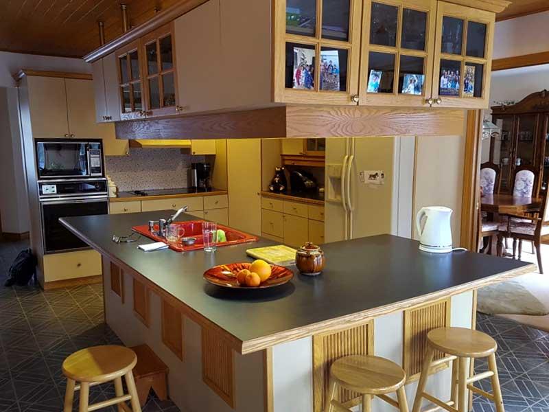 Kitchen Cabinet Update - After