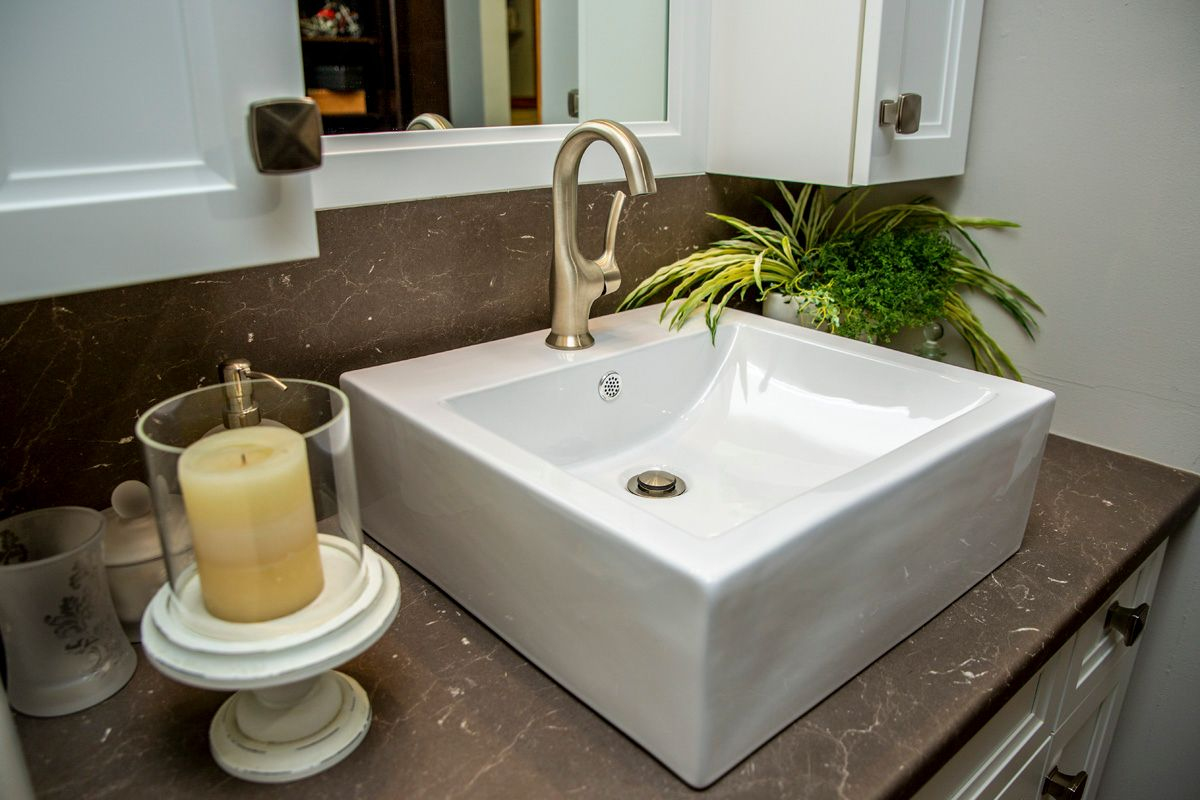 Custom Bathroom Sink and Tap North Bay