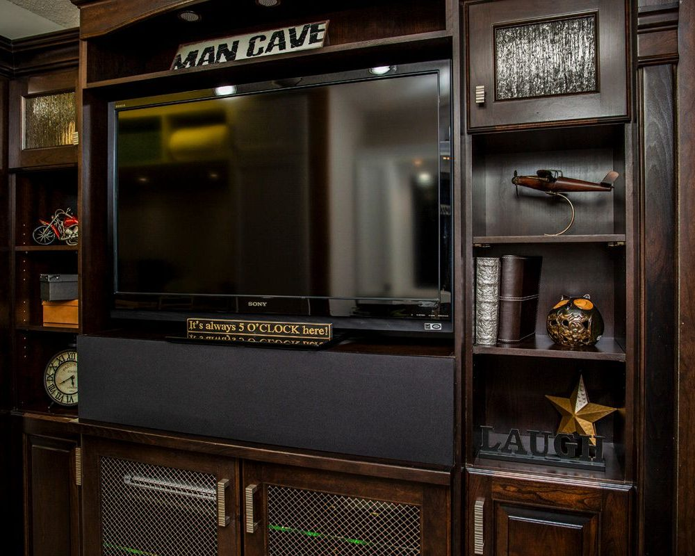 Custom TV Unit and Cabinetry