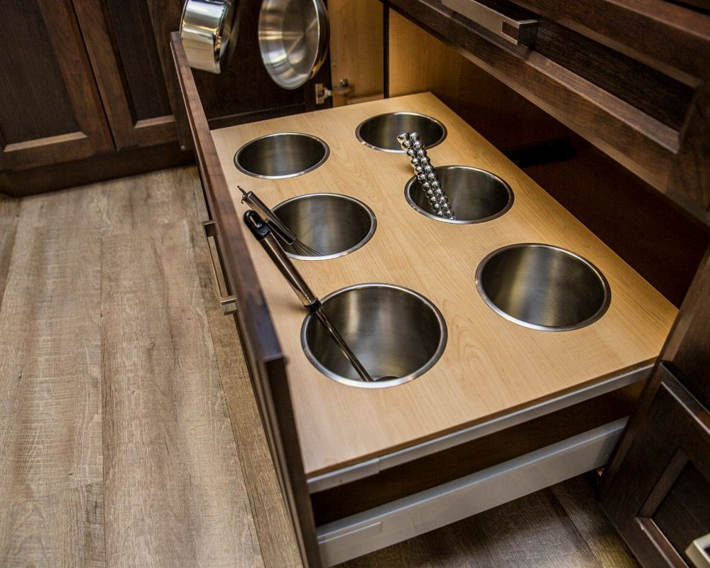 Kitchen Cabinet Accessories for Ladles and Spoons